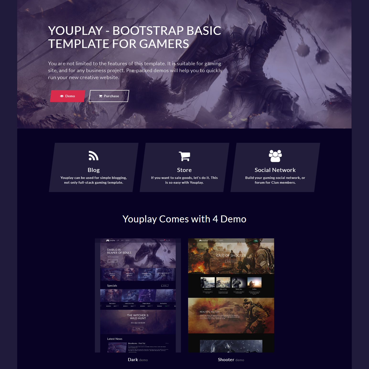 Free Bootstrap Basic Templates