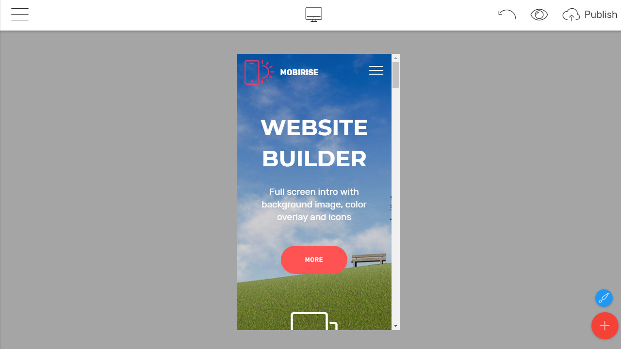 Responsive Bootstrap Builder